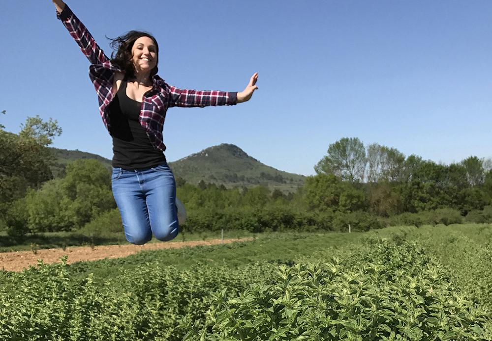 La volonté folle d'Elodie Truc : devenir producteur plantes aromatiques bio