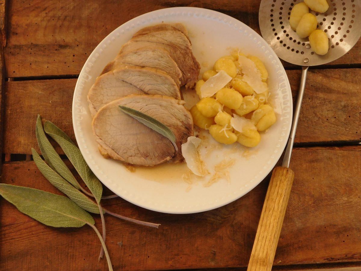 Recette roti de porc à la sauge bio