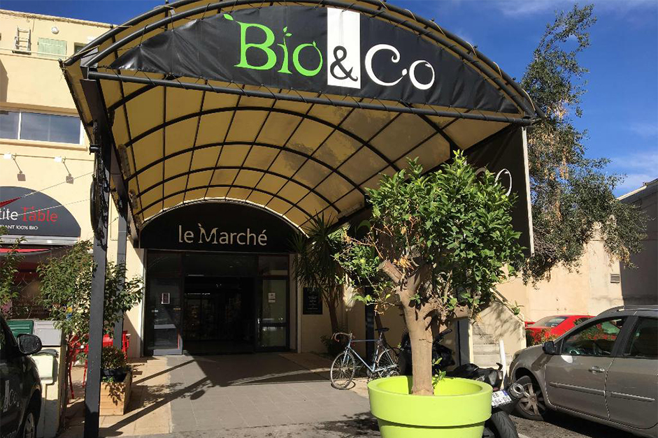 Retrouvez les aromates bio de Truc & Co au marché Bio & Co Marseille