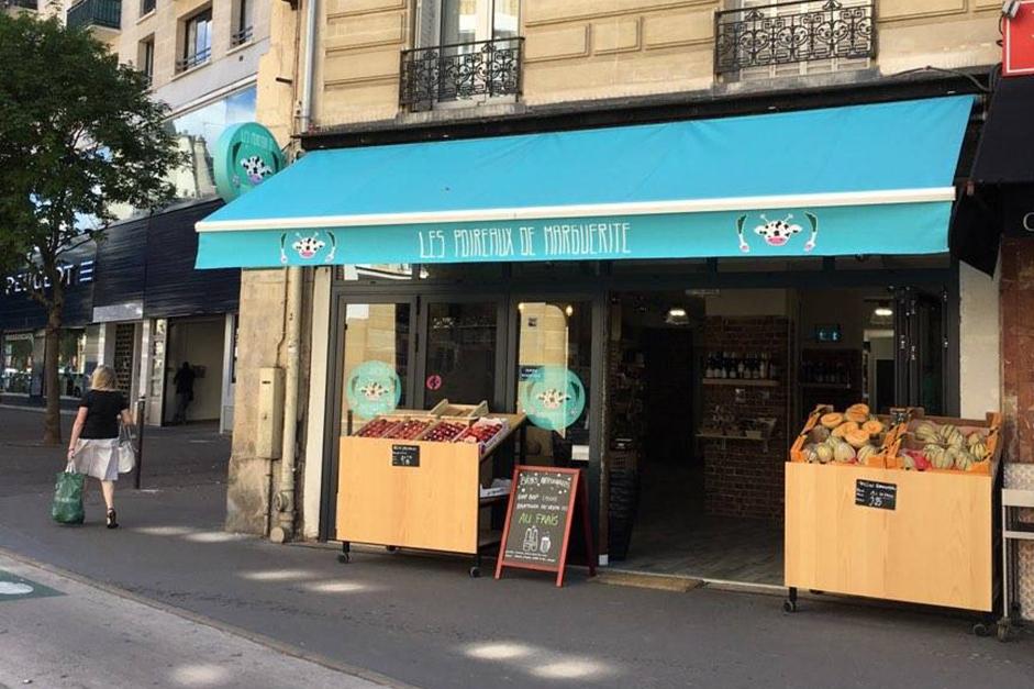L'épicerie Les Poireaux de Marguerite accueillent les herbes aromatiques bio Truc&Co