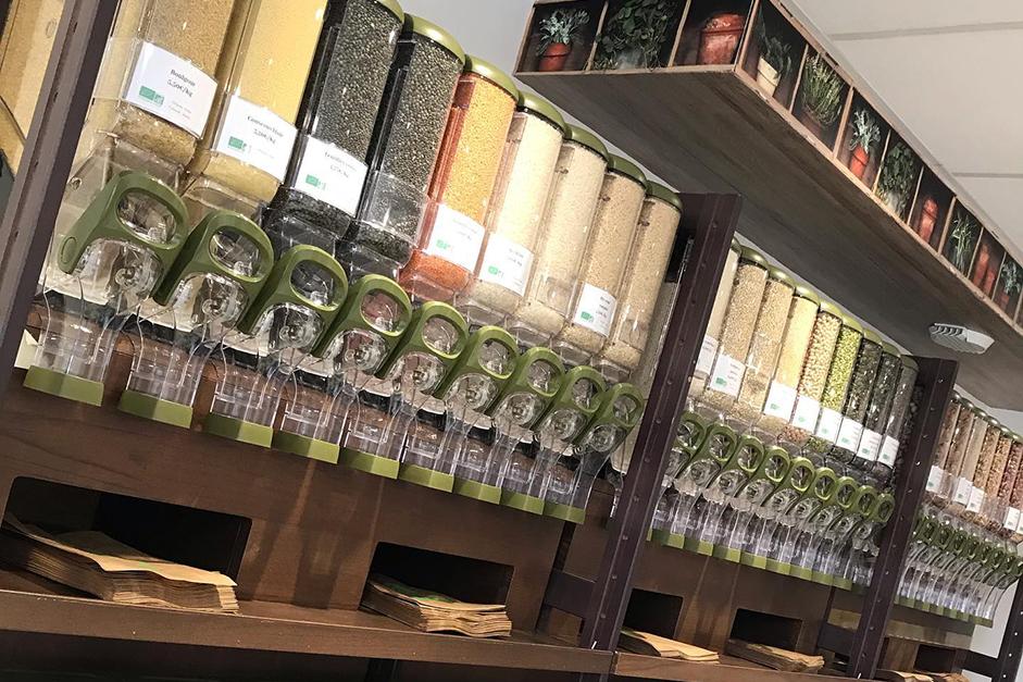 Les herbes aromatiques bio Truc&Co à l'épicerie Le Nid Vgtal Rezé