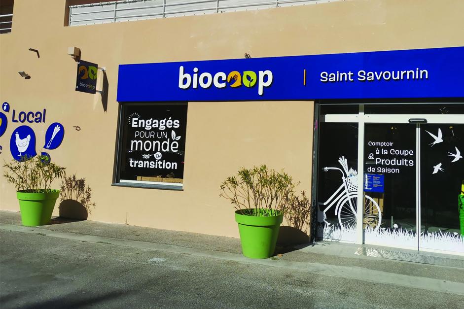 Herbes aromatiques bio Truc&Co au Biocoop St Savournin