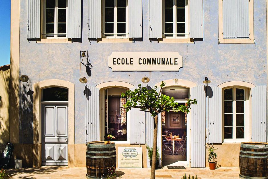 Les herbes de Provence bio Truc&Co au Bistrot Ecole d'Esparron