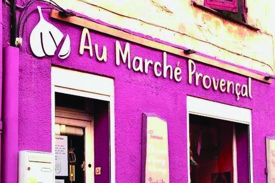 Aromates bio de Provence Truc & Co au Marché Provençal Tourves